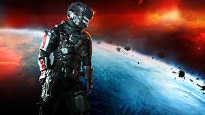 Обои Dead Space Dead Space 0 Воители Доспехи Шлем Фэнтези Космос