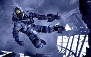 Картинка Dead Space Dead Space 0 Воители Доспехи Полет Космос Фэнтези