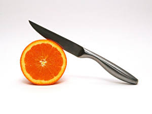 Картинка Фрукты Цитрусовые Апельсин Еда
