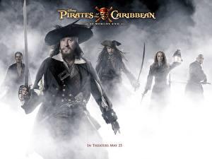 Фото Пираты Карибского моря Пираты Карибского моря 3 - На краю Света Джеффри Раш Фильмы
