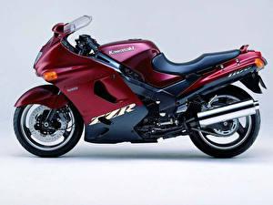 Обои Спортбайк Kawasaki Мотоциклы фото