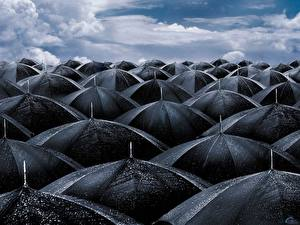 Фотографии Креатив Много Зонт
