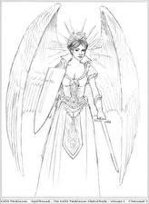 Фото Keith Parkinson Ангелы Воины Рисованные С мечом Девушки